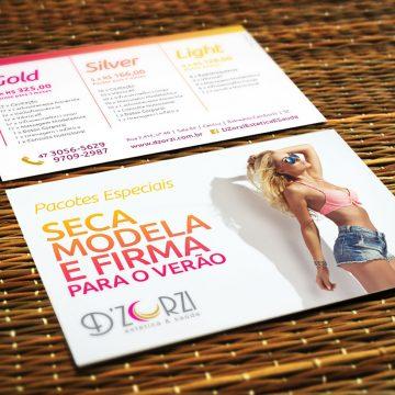 Criação Layout Flyer Design Gráfico Balneário Camboriú