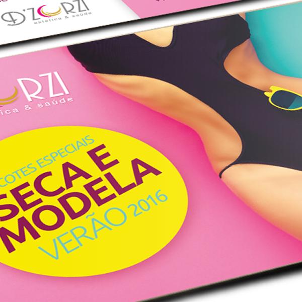 Design Gráfico, Flyer, Impressos, Verão 2016