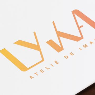 Design Gráfico Marca Cartão de Visita Criação